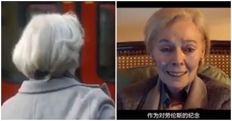 白发老奶奶每天准时到地铁报到,却从不